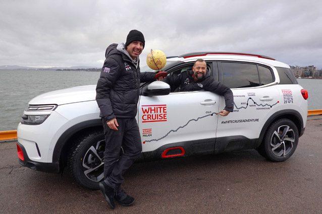 Citroën C5 Aircross 71° N Limited Edition insieme a Fabio Volo