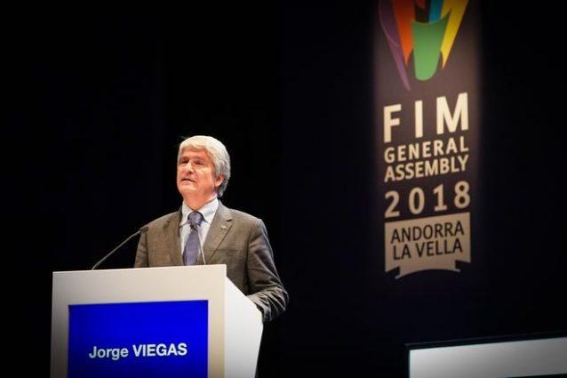 Il nuovo presidente della FIM Jorge Viegas