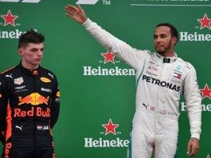 Max Verstappen e Lewis Hamilton – Getty images