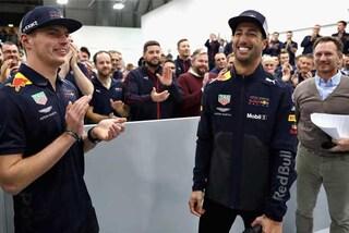 """F1, Ricciardo saluta la Red Bull: """"Inizia un nuovo capitolo della mia carriera"""""""