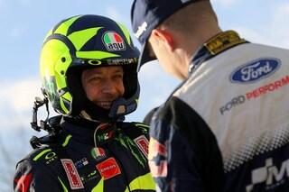 """Rally Monza, Valentino Rossi: """"Masters' Show? Cairoli sempre molto bravo, ma va bene così"""""""
