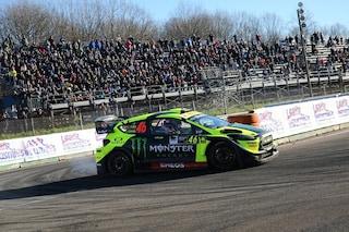 Valentino Rossi perfetto, settima vittoria al Monza Rally Show