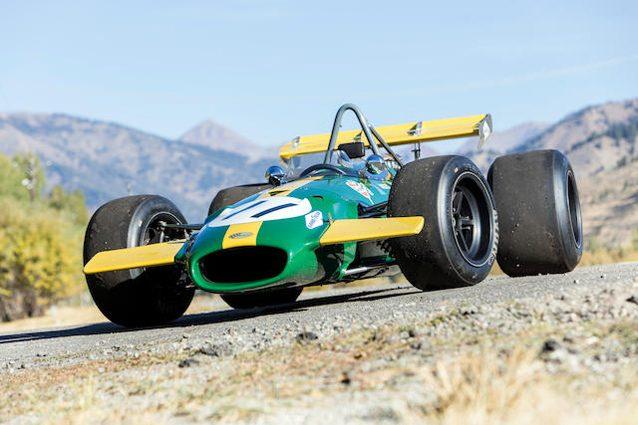 La Brabham BT26 con la quale Jackie Ickx vinse il GP del Canada – Foto Bonhams