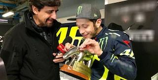 Tapiro d'Oro a Valentino Rossi, e sul matrimonio con la Novello...