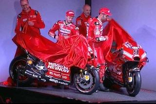 MotoGP, presentazione Ducati 2019: ecco la nuova Desmosedici Gp di Dovizioso e Petrucci