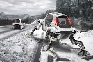 """Hyundai Elevate, l'auto che """"cammina"""" al Ces di Las Vegas"""