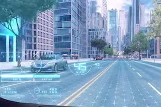 Invisible-to-Visible di Nissan, al Ces la tecnologia che coniuga mondo reale con quello virtuale