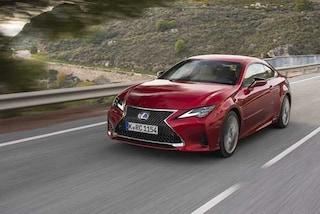 Nuova RC Hybrid, arriva la coupé sportiva griffata Lexus