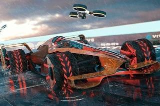 Elettrica e dotata di intelligenza artificiale, ecco come la McLaren immagina la F1 del futuro