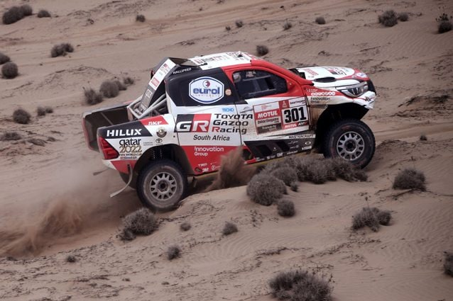 Nasser Al–Attiyah – Getty images