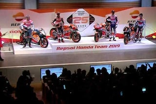 MotoGP, presentazione Honda: ecco le moto di Marquez e Lorenzo