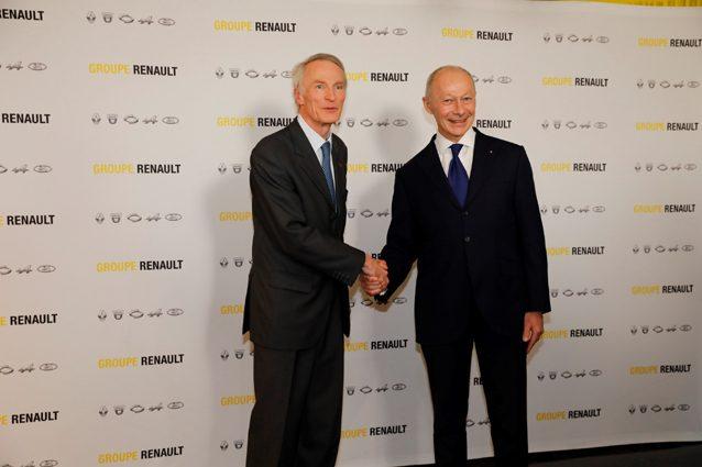 Jean–Dominique Senard e Thierry Bolloré
