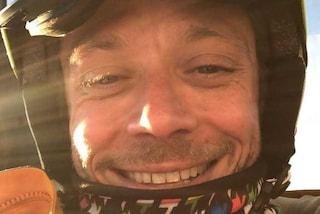 """Vacanze finite per Valentino Rossi: """"Bye bye Campiglio, divertente come al solito"""""""