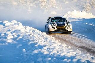 Buon debutto per Bottas all'Arctic Rally, il finlandese vince una speciale e chiude 5° assoluto