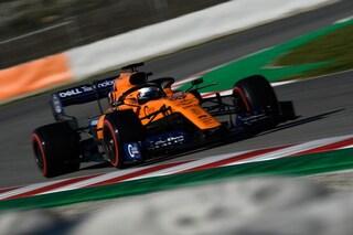 F1 Test 2 Barcellona 2019, Day-2: Vettel ko, Sainz porta la McLaren davanti alla pausa pranzo