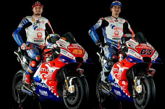 Le Ducati Pramac di Bagnaia e Miller