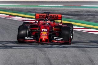 F1 Test 2 Barcellona 2019, Day-3: Leclerc sigla il record con la Ferrari, Red Bull a muro