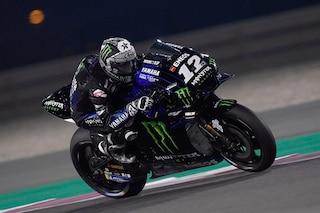 MotoGP test Qatar: show Yamaha, 4° Rossi. Tante cadute, giù anche Lorenzo