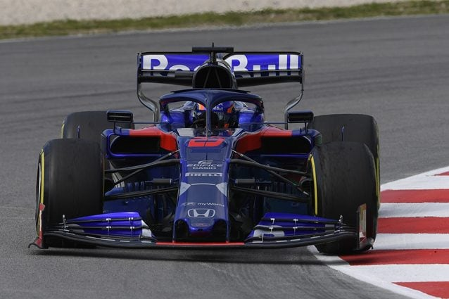 Alexander Albon sulla Toro Rosso – Getty images