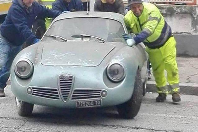 Alfa Romeo Giulietta SZ – Foto @Alfa Romeo Giulia & 105–series