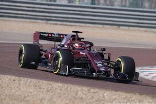 Raikkonen porta al debutto l'Alfa Romeo Racing, il finlandese in pista a Fiorano