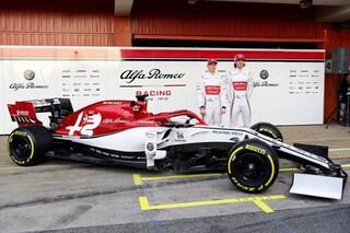 Alfa Romeo Racing, svelata nei test di Barcellona la nuova livrea 2019