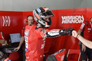 """MotoGP, Petrucci record con caduta. Bagnaia: """"Non mi aspettavo di essere così avanti"""""""
