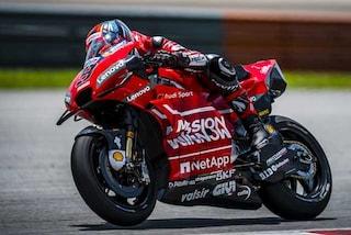 MotoGP, Ducati missile nei test di Sepang. 5° Vinales, 10° Rossi