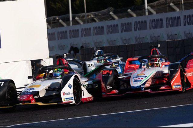 Di Grassi supera Wehrlein sul traguardo nell'ePrix di Città del Messico – Foto Twitter Audi