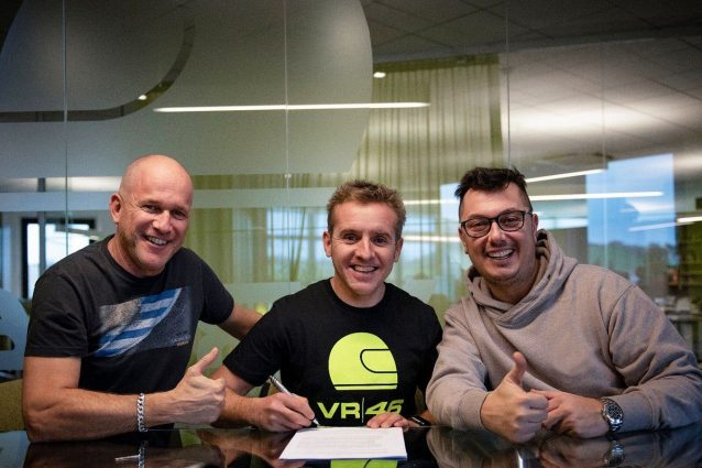 Rossi a Sky Racing Team,
