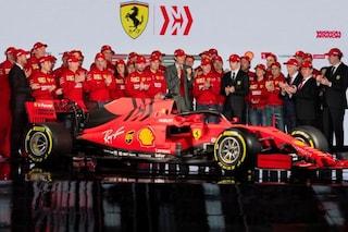 """Presentazione Ferrari F1 2019, Vettel: """"Grande emozione"""". Leclerc: """"Da Seb posso imparare tanto"""""""