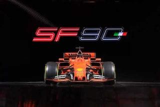 Ferrari alza il velo, ecco la SF90 con la quale Vettel e Leclerc daranno l'assalto al mondiale