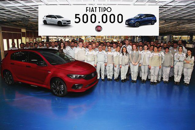 La Fiat Tipo raggiunge il mezzo milione di esemplari prodotti