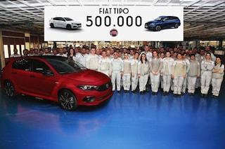 Nuovo traguardo per Fiat, la Tipo supera il mezzo milione di esemplari prodotti