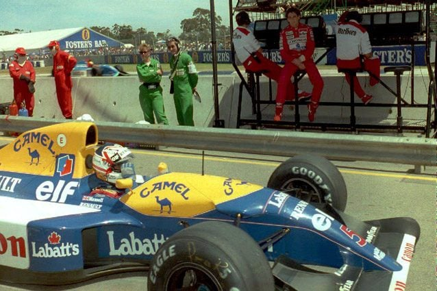 La Williams di Nigel Mansell – Getty images