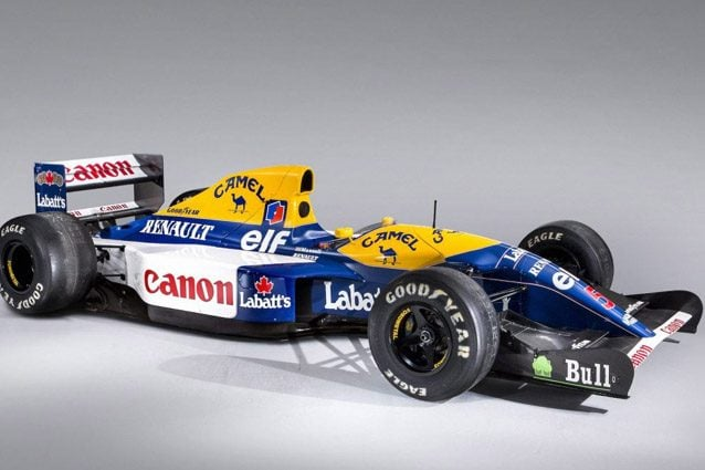 La Williams FW14B – Foto @Bonhams