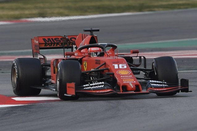 Charles Leclerc sulla SF90 – Getty images