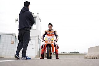 """MotoGP, Marquez: """"Ok il gomito a terra ma la spalla dà ancora fastidio"""""""
