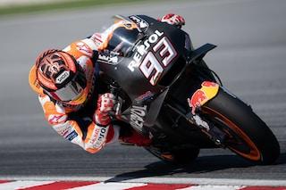 MotoGP test Sepang, Marquez si prende il day-1. 6° Valentino Rossi