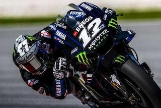 MotoGP test Sepang, Vinales mette tutti dietro, 6° Valentino Rossi