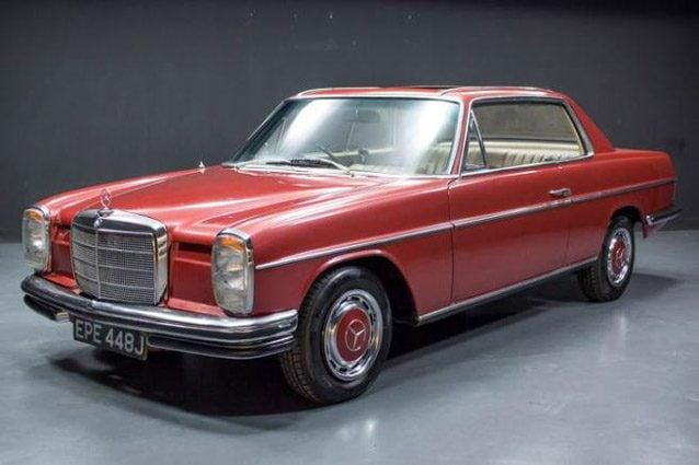 Mercedes 250 CE di George Harrison