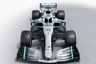 Mercedes presenta la W10, ecco la vettura che sarà guidata da Hamilton e Bottas