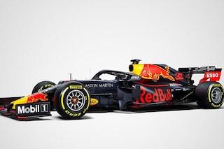 Red Bull torna all'antico, ecco la livrea della RB15 di Verstappen e Gasly