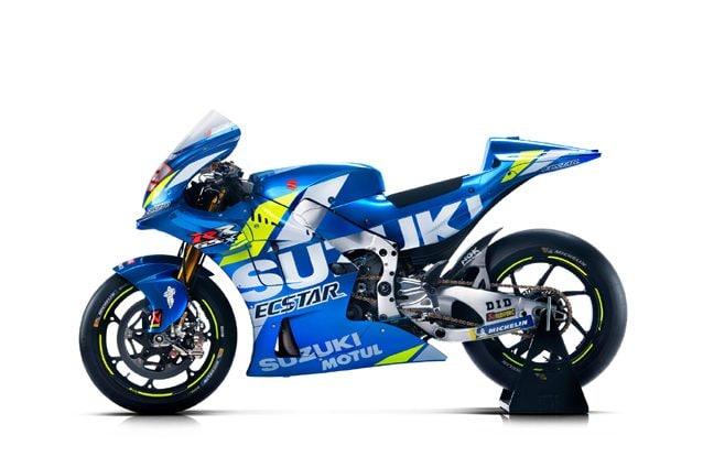 La nuova Suzuki che correrà nel mondiale MotoGP 2019