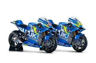 MotoGP, Suzuki presenta la nuova moto con la quale Mir e Rins correranno nel 2019