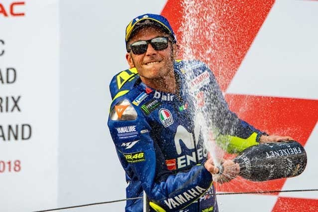 Podio numero 232 in carriera per Valentino Rossi / Gp Germania 2018