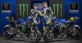MotoGP 2019, ecco la nuova Yamaha di Valentino Rossi e Maverick Vinales