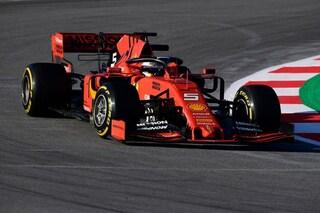 F1 Test Barcellona 2019, Day-1: Vettel chiude al comando, Hamilton nelle retrovie