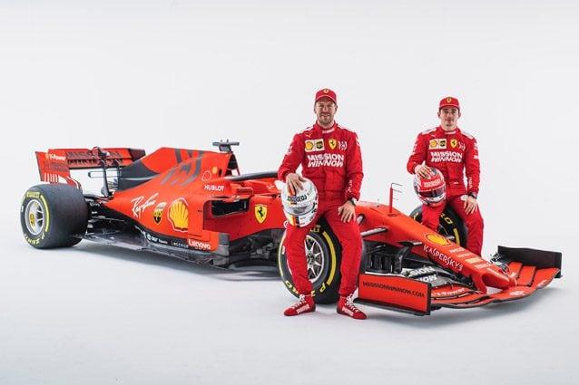 Vettel e Leclerc sulla nuova SF90