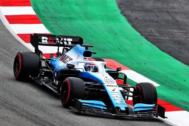 La Williams FW42 – Foto Twitter